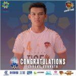 ブンナット選手がワールドカップアジア予選のカンボジア代表に選出